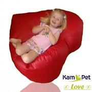 Sedací vak Love 90 KamPet Comfort ekokůže