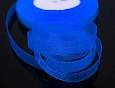 Modrá kobaltová stuha organzová 6mm organza stužka šifónová modrá nivea, á 1m