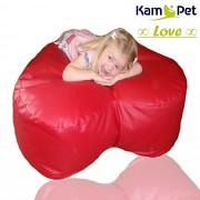 Sedací vak Love 120 KamPet Comfort ekokůže