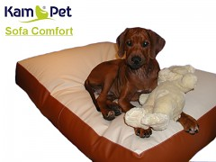 Luxusní sofa pro psa 130cm KamPet Comfort ekokůže