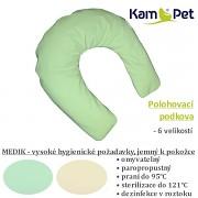 Polohovací podkova pro novorozence XS KamPet MEDIK hydrofobní