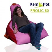 Sedací vak - křeslo Frolic 80 Comfort ekokůže