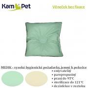 Věneček bez fixace 15x15 KamPet MEDIK sv.zelený
