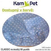 Kulatá bouda pro psa vel. 1 KamPet Classic 100% bavlna
