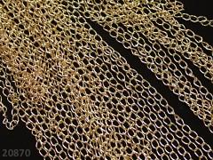 Zlatý řetízek bižuterní řetízek 5.5/3.5/0.5