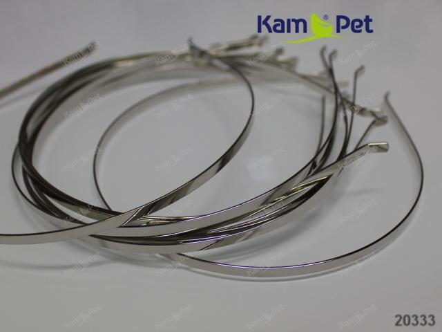 čelenka do vlasů 4mm platinová ffe7d30847