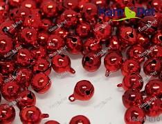 Červené rolničky vánoční ozdoba dekorace