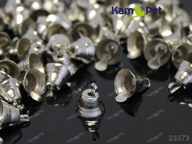 Zvonečky PLATINOVÉ 11mm, balení 10ks