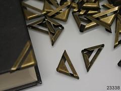 Kovové rohy 17mm bronzové, bal. 10ks