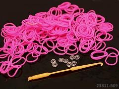LOOM bands gumičky CYKLÁM 280ks+háček+spojky