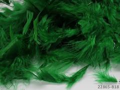 ZELENÉ peří dekorační jemná pírka jemná peří