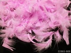 RŮŽOVÉ peří dekorační jemná pírka jemná peří