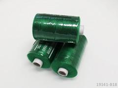 Trávově zelené nitě PES 1000y HARD zelená niť cívka