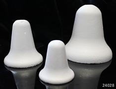 Polystyrénový zvonek 6cm výlisek z polystyténu 60mm, á 1ks