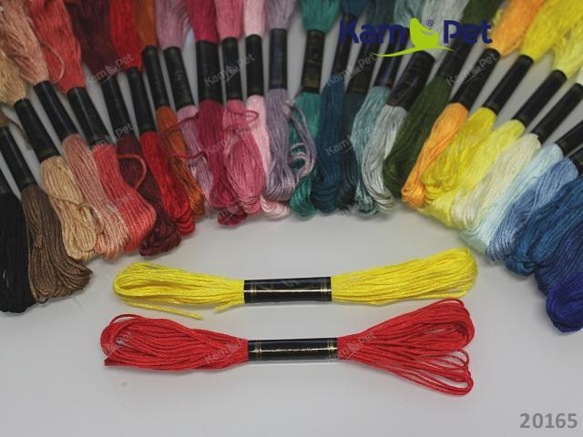 Vyšívací příze bavlnky MIX balení 5ks