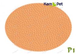 Lososová koženka lososová P1  látka čalounická koženka