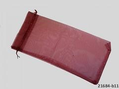 Organzový dárkový sáček 40X18cm bordó