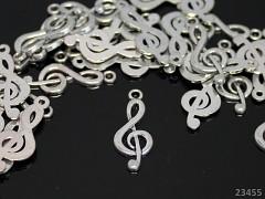Vintage přívěšek keltský houslový klíč, bal. 2ks