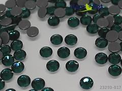 ZELENÉ TMAVĚ nažehlovací kamínky 6mm hot-fix, bal. 10ks