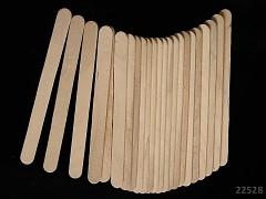 Špachtle dřevěné přírodní, bal. 24ks