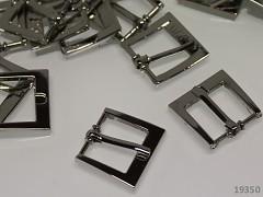 Kovová spona opasková či na kabelky 15mm, 1ks