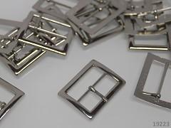 Kovová spona opasková či na kabelky 25mm, 1ks