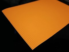 ŽLUTOORANŽOVÝ vlnitý papír A4 , 1ks