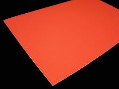 ORANŽOVÝ NEON vlnitý papír A4 , 1ks