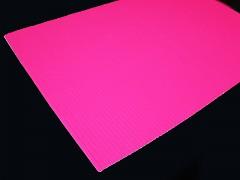 RŮŽOVÝ NEON vlnitý papír A4 , 1ks