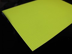 ZELENÝ NEON vlnitý papír A4 , 1ks