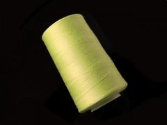 Citrón žluté nitě PES 5000y HARD žlutá citrónově niť,  1cívka koton