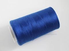 Modrá nivea nitě PES 5000y HARD modrá niť,  1cívka koton