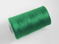 Zelené nitě PES 5000y HARD zelená niť,  1cívka koton