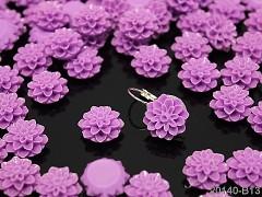 Kabošon chryzantéma 15/8 lila fialový, bal. 2ks