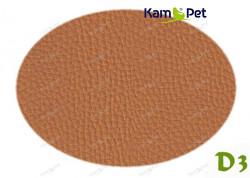 Karamelová koženka karamelová D3  látka čalounická koženka