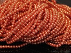 Voskované perly 6mm LOSOSOVÉ