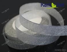 STŘÍBRNÁ stuha lurexová 25mm stuha