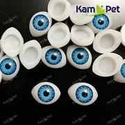 Modré oči na výrobu panenek s modrou duhovkou, bal. 2ks