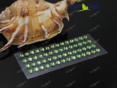 ZELENÉ SVĚTLE samolepící kamínky 5mm