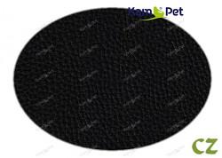 Černá koženka černá CZ  látka čalounická koženka