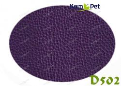 Fialová koženka tmavě fialová D502  látka čalounická koženka