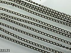 Bronzový řetízek bižuterní řetízek 3/2/0.5