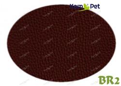 Hnědá koženka tmavě hnědá hořká čokoláda BR2  látka čalounická koženka