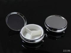 Krabička na léky lékovka 50mm s lůžkem k dozdobení