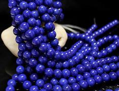 modrý Lapis lazuli kuličky  10mm přírodní
