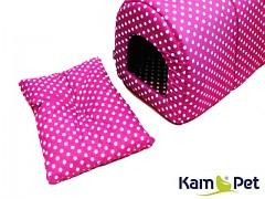 Polštářek do boudičky pro pejska č. 1 KamPet Classic 100% bavlna