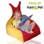 Sedací vak - křeslo Snail 60 Comfort ekokůže