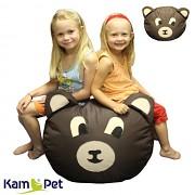 MEDVĚD MEDVÍDEK sedací vak pro děti zvířátko ZOO kolekce KamPet