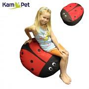 ČERVENÁ BERUŠKA sedací vak pro děti zvířátko ZOO kolekce KamPet