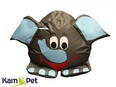 SLON sedací vak pro děti zvířátko ZOO kolekce KamPet